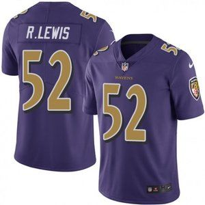 Ravens Ray Lewis Purple  Jersey